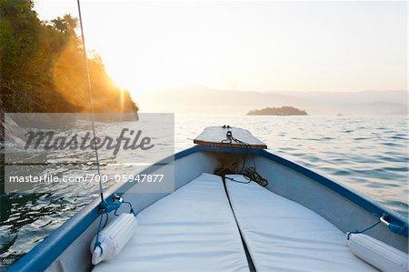 Boat, near Paraty, Rio de Janeiro, Brazil