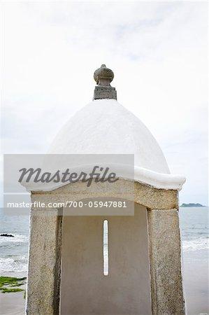 Fortaleza de Nossa Senhora dos Prazeres de Paranagua, Ilha do Mel, Parana, Brazil