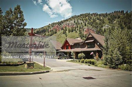Residential Neighbourhood, Aspen, Colorado, USA