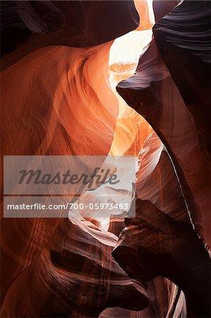 Antelope Canyon, near Page, Arizona, USA