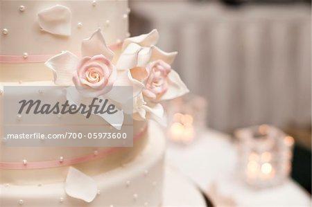 Close-Up of Wedding Cake