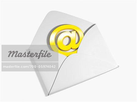At Symbol and Envelope