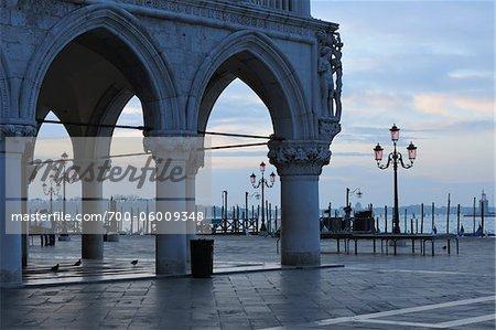 Doge's Palace at Dawn, Venice, Veneto, Italy