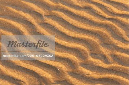 Sand Patterns, Paknam Luangsuan Beach, Chumporn, Thailand