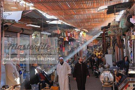 Traditional Souk, Marrakech, Morocco