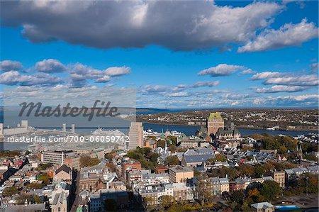 Overview of Quebec City, Quebec, Canada