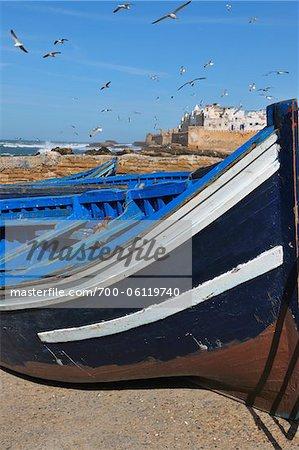 Close-Up of Fishing Boat, Essaouira, Morocco