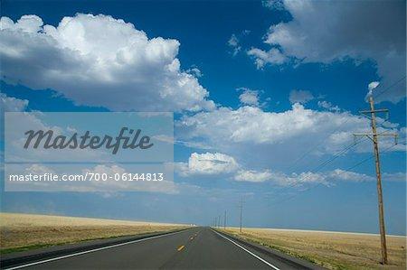 Open Road, near Albuquerque, New Mexico, USA