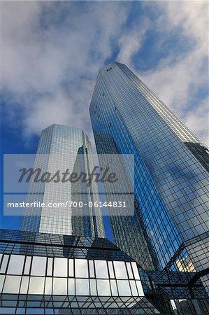 Deutsche Bank Skyscraper, Frankfurt am Main, Hesse, Germany
