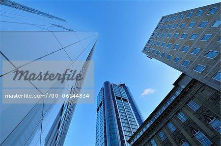 Neue Mainzer Strasse and City Buildings, Frankfurt am Main, Hesse, Germany