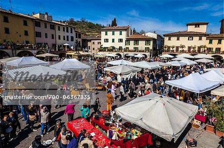 Antique Market, Greve in Chianti, Tuscany, Italy