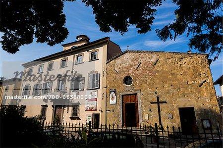 Small Church, Sansepolcro, Tuscany, Italy