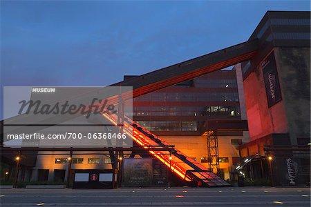 Zeche Zollverein at Dawn, Essen, North Rhine-Westphalia, Germany