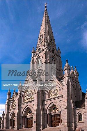 Close-Up of St. Mary's Cathderal Basilica, Halifax, Nova Scotia, Canada