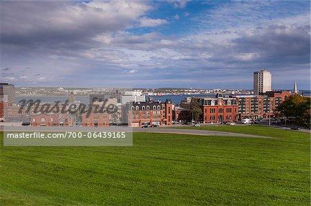 Cityscape from Fort George, Citadel Hill, Halifax, Nova Scotia, Canada