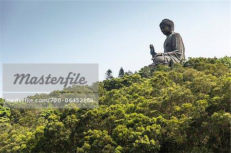 Tian Tan Buddha, Po Lin Monastery, Ngong Ping Plateau, Lantau Island, Hong Kong, China