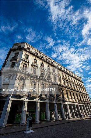 Close-Up of Low-Rise Building, Havana, Cuba