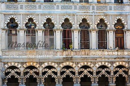 Close-Up of Palacio de las Ursulinas, Havana, Cuba