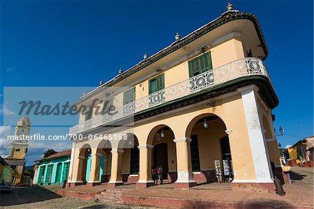 Low Angle View of Museo Romantico, Trinidad, Cuba