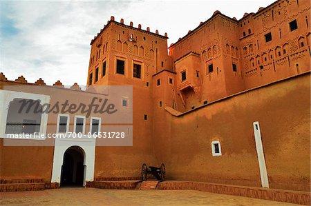 Kasbah Taourirt, Ouarzazate, Morocco, Africa