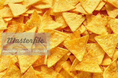 Close-Up of tortilla chips (full frame)