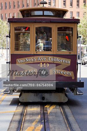 California St. Cable car, San Francisco