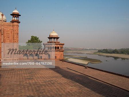 Mosque in enclosure of Taj Mahal, India