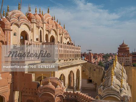 Rear View of Hawa Mahal Palace, Jaipur, India