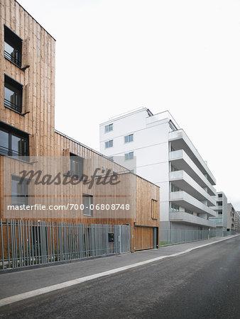 Contemporary Block Apartments in Paris, France