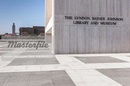 Lyndon Baines Johnson Library and Museum, Austin, Texas, USA