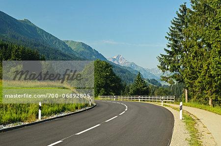 Road No. 201, Kleinwalsertal, Austria