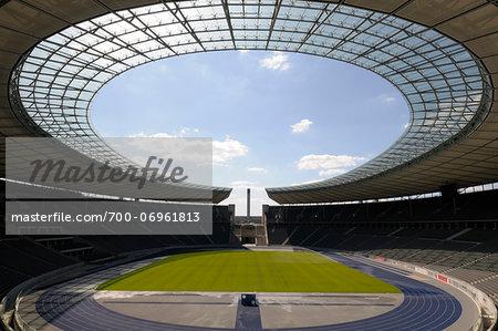 Olympiastadion Berlin, (Olympic Stadium) Berlin, Germany