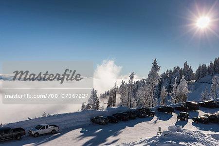 Mount Ashland Ski Resort, Southern Oregon, USA