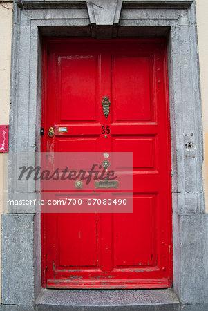 Door in High Street, Kilkenny, County Kilkenny, Leinster, Republic of Ireland