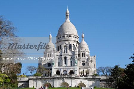 Basilique du Sacre-Coeur, Montmartre, 18th Arrondissement, Paris, France