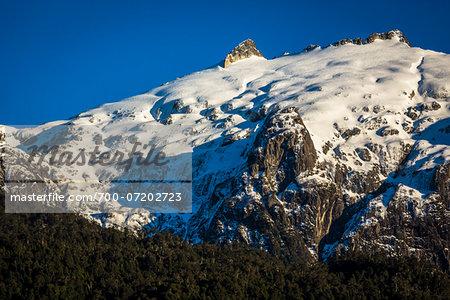 Scenic view of mountain at Peulla, Parque Nacional Vicente Perez Rosales, Patagonia, Chile