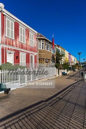 Row of Houses, Valparaiso, Chile