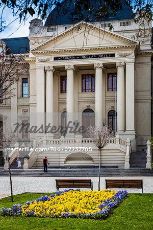 Museo de Arte Contemporaneo on Ismael Valdes Vergara, Santiago, Chile