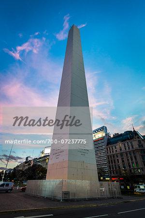 Obelisco de Buenos Aires, Plaze de la Republica, Buenos Aires, Argentina