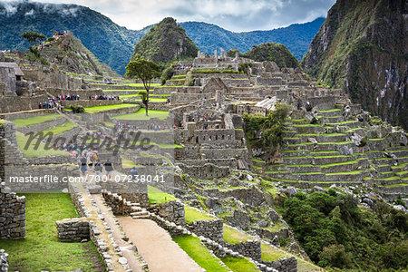 Overview of Machu Picchu, Peru
