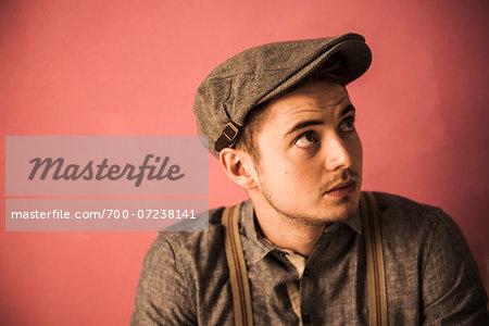 Portrait of Young Man, Studio Shot