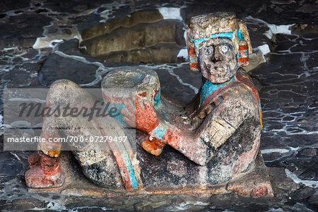 Artifacts, Templo Mayor, Mexico City, Mexico