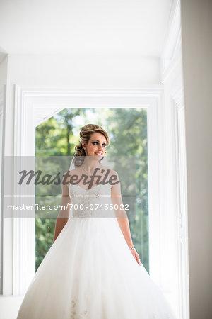 Portrait of Bride, Toronto, Ontario, Canada