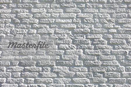 Brick Wall Painted White