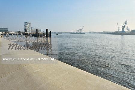 View of Harbour, Hamburg, Germany