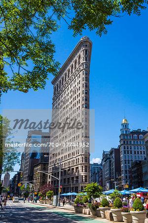 Flatiron Building, New York City, New York, USA
