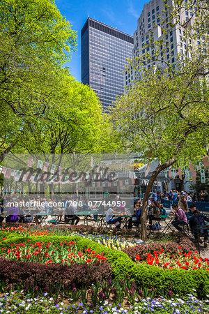 Madison Square Park, Flatiron District, New York City, New York, USA