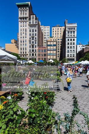 Union Square Markets, New York City, New York, USA