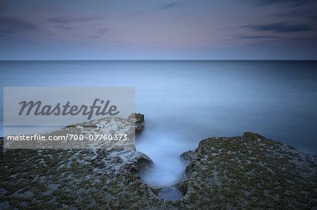 Long Exosure of Coast and Sky, Isla of Portland, Dorset, England