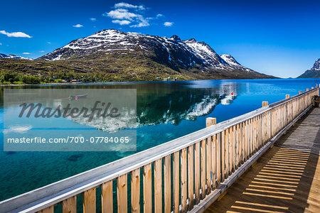 Ersfjordbotn, Island of Kvaloya near Tromso, Norway